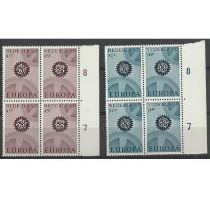 Znaczek Holandia 1967 Mi 878-879 Czyste **