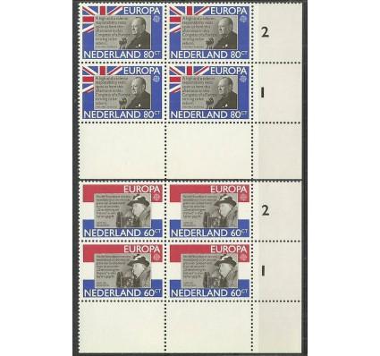 Znaczek Holandia 1980 Mi 1168-1169 Czyste **