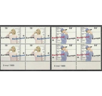 Znaczek Holandia 1989 Mi 1364-1365 Czyste **