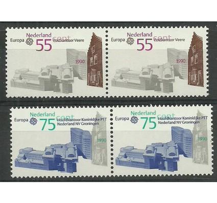Znaczek Holandia 1990 Mi 1386-1387 Czyste **