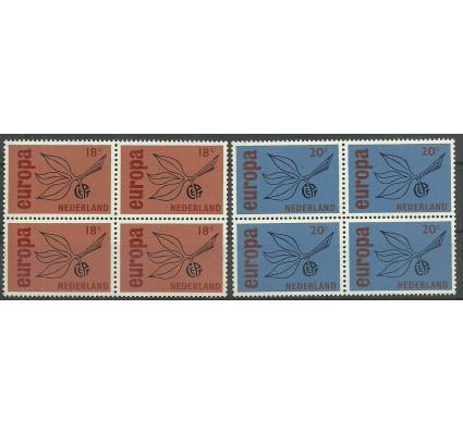 Znaczek Holandia 1965 Mi 848-849 Czyste **