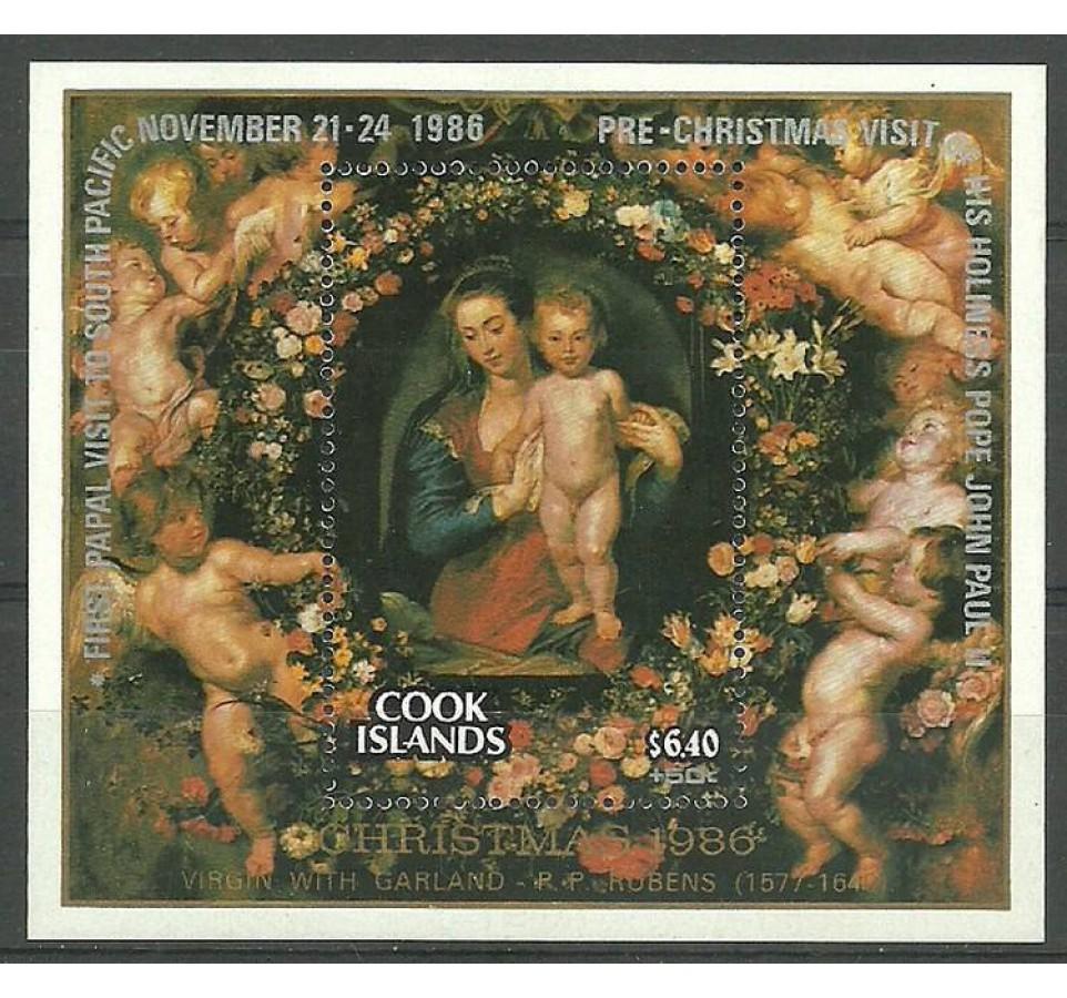 Wyspy Cooka 1978 Mi bl 179 Czyste **