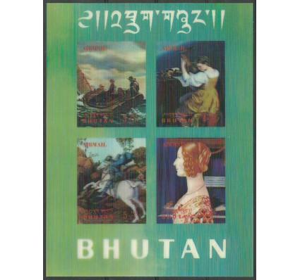 Znaczek Bhutan 1970 Mi bl 36 Czyste **