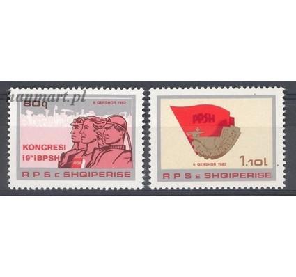 Znaczek Albania 1982 Mi 2129-2130 Czyste **