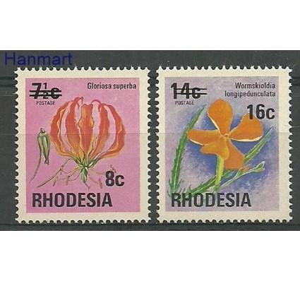 Znaczek Rodezja 1976 Mi 172-173 Czyste **