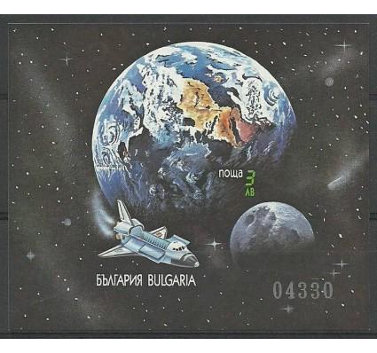 Znaczek Bułgaria 1991 Mi bl 215B Czyste **