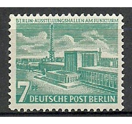 Znaczek Berlin Niemcy 1954 Mi 121 Czyste **