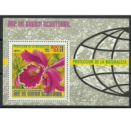 Znaczek Gwinea Równikowa 1974 Mi bl130 Czyste **