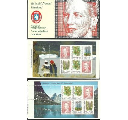 Grenlandia 1996 Mi mh 4 Czyste **