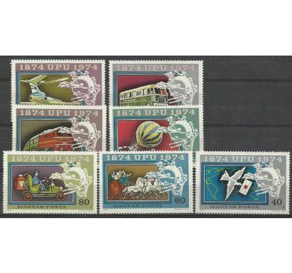 Znaczek Węgry 1974 Mi 2945-2951 Czyste **