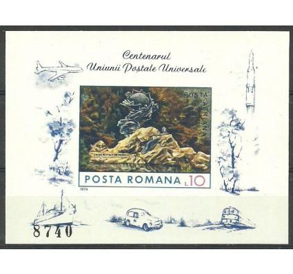 Znaczek Rumunia 1974 Mi bl 113 Czyste **