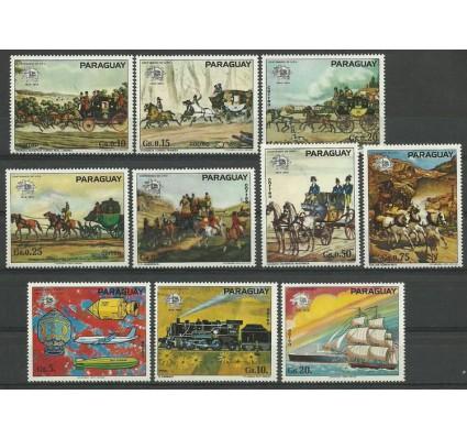 Znaczek Paragwaj 1974 Mi 2556-2565 Czyste **