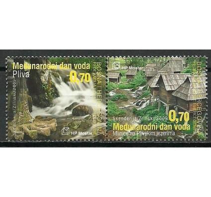 Znaczek Mostar 2009 Mi 253-254 Czyste **