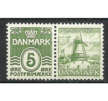Znaczek Dania 1937 Mi 198Ib+234 Czyste **