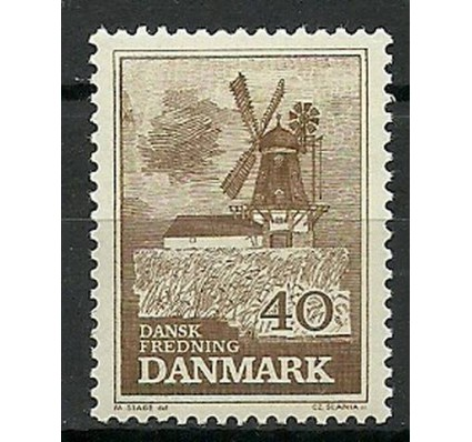 Znaczek Dania 1965 Mi 437y Czyste **