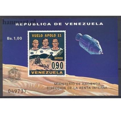 Znaczek Wenezuela 1969 Mi bl 18 Czyste **