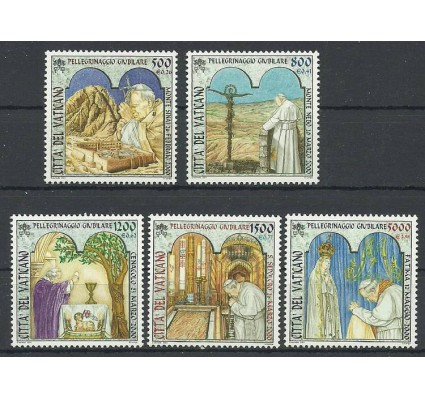 Znaczek Watykan 2001 Mi 1375-1379 Czyste **
