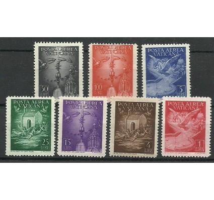 Znaczek Watykan 1947 Mi 140-146 Czyste **