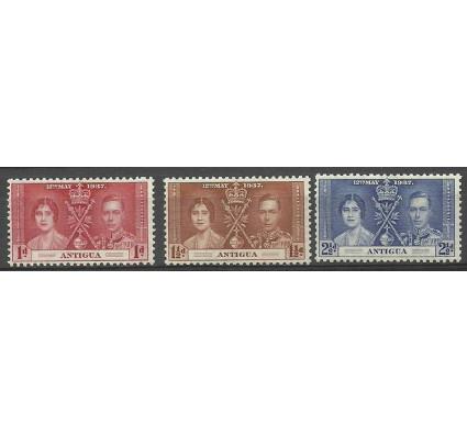 Znaczek Antigua i Barbuda 1937 Mi 75-77 Czyste **