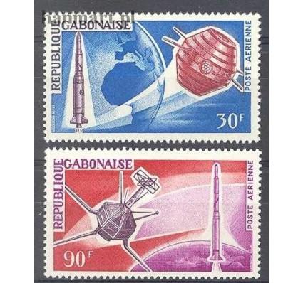 Gabon 1966 Mi 244-245 Czyste **