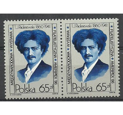 Znaczek Polska 1986 Mi 3027 Fi 2879 Czyste **