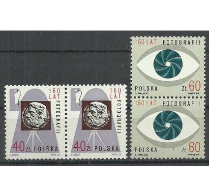 Znaczek Polska 1989 Mi 3232-3233 Fi 3084-3085 Czyste **