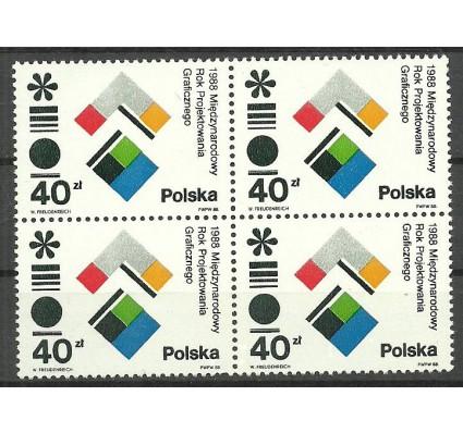 Znaczek Polska 1988 Mi 3141 Fi 2993 Czyste **