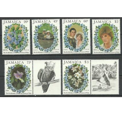 Znaczek Jamajka 1982 Mi zf 536-541 Czyste **