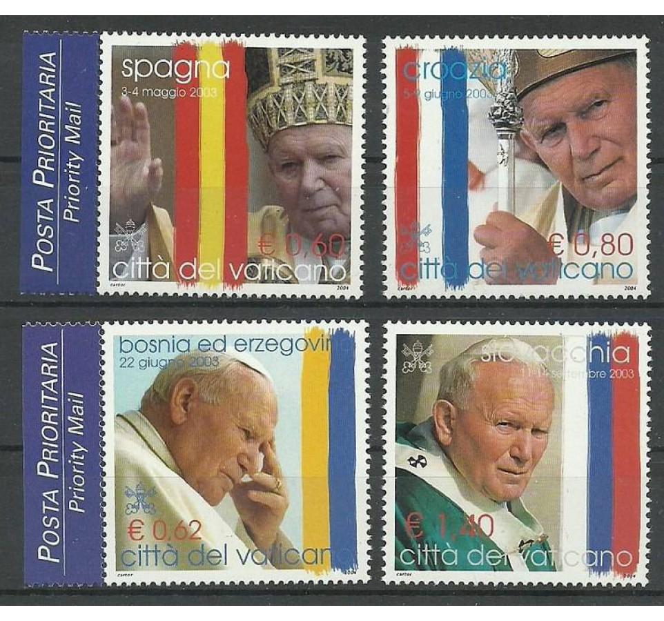 Watykan 2004 Mi 1484-1487 Czyste **