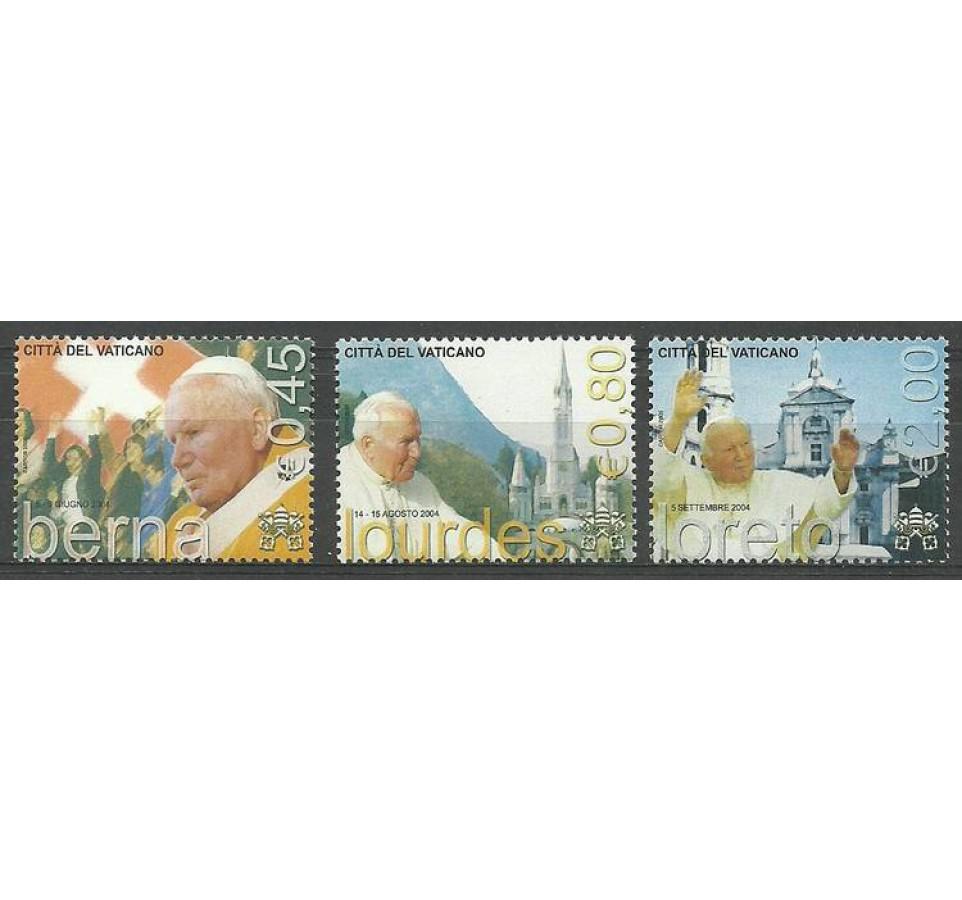 Watykan 2005 Mi 1530-1532 Czyste **