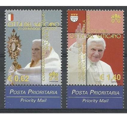 Znaczek Watykan 2006 Mi 1558-1559 Czyste **
