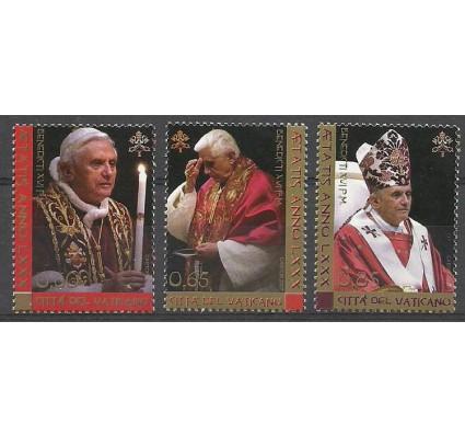 Znaczek Watykan 2007 Mi 1573-1575 Czyste **