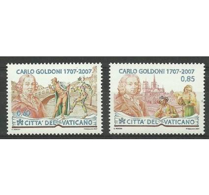 Znaczek Watykan 2007 Mi 1580-1581 Czyste **