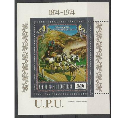 Znaczek Gwinea Równikowa 1974 Mi bl111 Czyste **