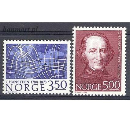 Norwegia 1984 Mi 902-903 Czyste **