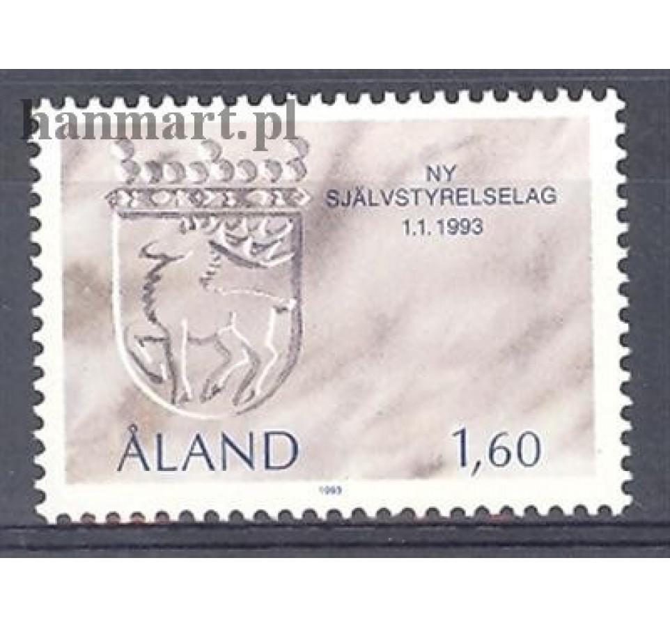 Wyspy Alandzkie 1993 Mi 65 Czyste **