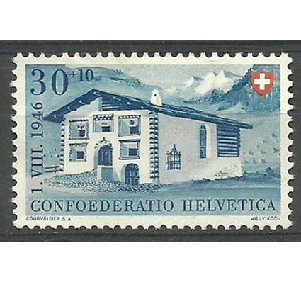 Znaczek Szwajcaria 1946 Mi 474 Z podlepką *