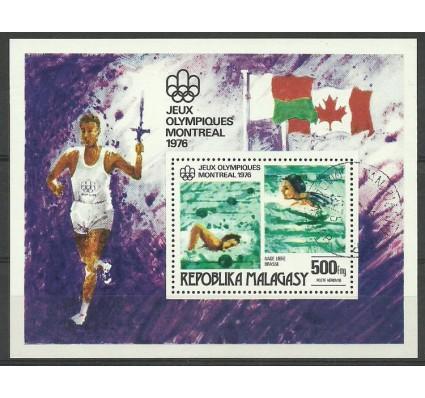 Znaczek Madagaskar 1976 Mi bl 10 Stemplowane