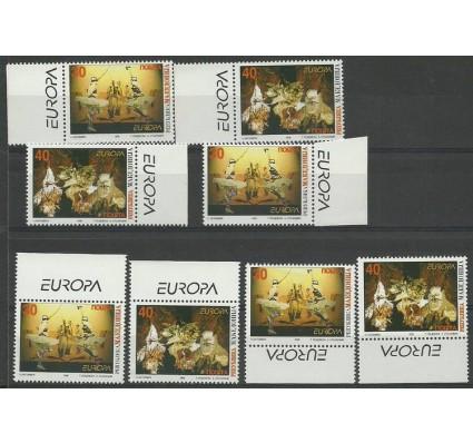 Znaczek Macedonia Północna 1998 Mi 128-129 Czyste **