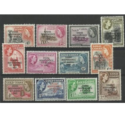 Znaczek Złote Wybrzeże (Ghana) 1957 Mi 5-16 Czyste **