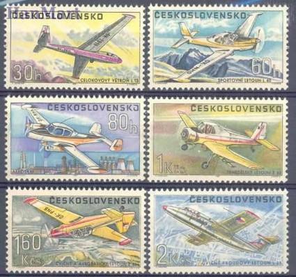 Znaczek Czechosłowacja 1967 Mi 1755-1760 Czyste **
