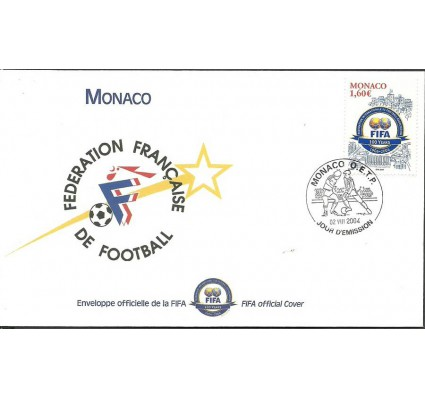 Znaczek Monako 2004 Mi 2708 FDC