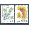 Wyspy Alandzkie 1999 Mi 159-160 Czyste **