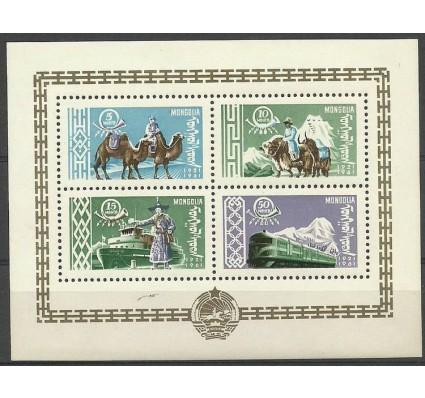 Znaczek Mongolia 1961 Mi bl 1 Czyste **