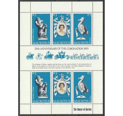 Znaczek Mauritius 1978 Mi ark 456-458 Czyste **