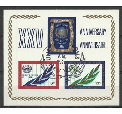 Znaczek Narody Zjednoczone Nowy Jork 1970 Mi b l5 Stemplowane