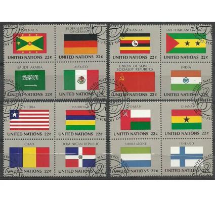 Znaczek Narody Zjednoczone Nowy Jork 1985 Mi 472-487 Stemplowane