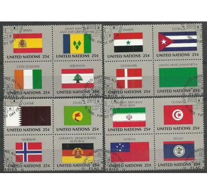 Znaczek Narody Zjednoczone Nowy Jork 1988 Mi 553-568 Stemplowane