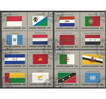 Znaczek Narody Zjednoczone Nowy Jork 1989 Mi 579-594 Stemplowane