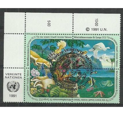 Znaczek Narody Zjednoczone Wiedeń 1991 Mi 110-113 Stemplowane